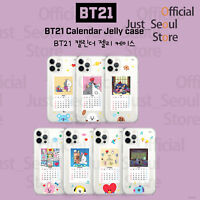 Official BTS BT21 Calendar Jelly Phone Case Cover+Freebie+FreeTracking KPOP