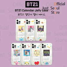 Official BTS BT21 Calendar Jelly Phone Case Cover+Freebie+FreeTracking KPOP