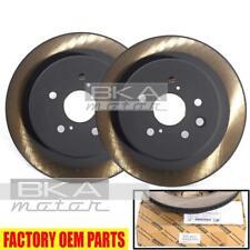 42431-30310 Genuine Lexus GS/IS/RC OEM Rear (LH+RH) Brake Rotor Disc Pair Set