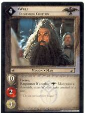 Lord Of The Rings CCG Card TTT 4.R40 Wulf, Dunlending Chieftain