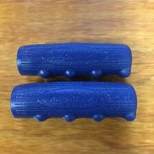 SCHWINN CHUBBY GRIPS BLUE GLITTER THAT FIT MANY SCHWINN BIKES OTHER NEW