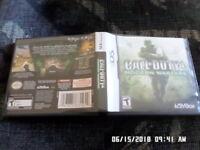 Call of Duty 4: Modern Warfare (Nintendo DS, 2007) w/ Case