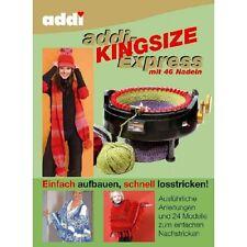 addi-Buch / Anleitungsbuch: addi-Express Kingsize mit 46 Nadeln