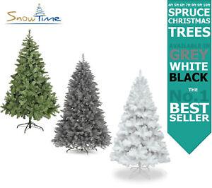 Christmas Tree Green Grey White Colorado Spruce 4ft 5ft 6ft 7ft 8ft 9ft 10ft