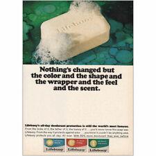 1964 Lifebuoy Soap Vintage Print Ad