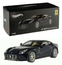 Ferrari F12 Berlinetta Gran Turismo Blau Blue 1:43 Hot Wheels Elite X5501