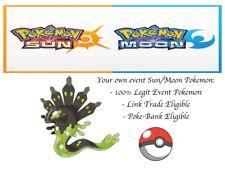 Pokemon Sun and Moon XY ORAS Descartes Zygarde Event Pokemon