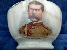 More details for antique rare general lord kitchener khartoum staffordshire english pottery bowl