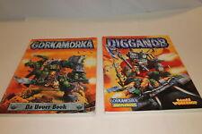 Gorkamorka Da Uvver Book & Digganob Lot (U-B7S2 196226)