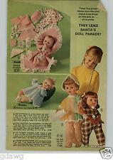 1972 PAPER AD Doll Horsman Effanbee Hi Dottie Hasbro Remco Walker Yummy Strutter