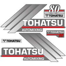 Tohatsu 80 outboard (2004) decal aufkleber adesivo sticker set