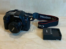Canon EOS 5D Mark II 21.1MP Digital SLR Camera with 50mm f/1.8 lens and charger
