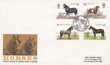 (90720) Clearance GB FDC Cavalli-Shetland Pony Stud BOOK haroldswick 5 LUGLIO 197
