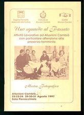 UNO SGUARDO AL PASSATO ATTIVITA LAVORATIVE ALLUVIONI CAMBIO' DONNE PIEMONTE 1997