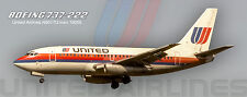 United Boeing 737 Photo Magnet (PMT1619)