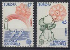 CEPT: ** edizione Andorra (Spa) 1986 post-fresco guardare acquistare e (y39#1)