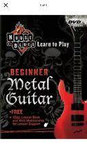 Beginner Metal Guitar Dvd Sealed