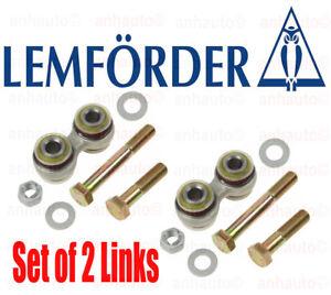 Set of 2 Rear Trailing Arm Support  BMW E23 E24 E28 E34 E38  LEMFÖRDER