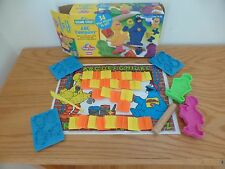 Play Doh Sesame Street ABC Company  letters shapes Big Bird Cookie Monster