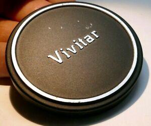 Vivitar Metal 55mm Front Lens Cap slip on type for 28mm 50mm