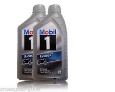 MOBIL 1 RACING 2t 2-Takt Olio Moto due tempi olio motore 2x1 LITRI