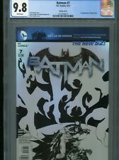 Batman #7  New 52  (Sketch cover)   CGC 9.8  WP
