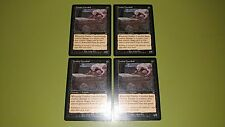 Zombie Cannibal x4 - Odyssey - Magic the Gathering MTG 4x Playset