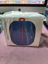 Ultimate Ears WONDERBOOM Wireless Portable Speaker BRAND NEW SubZero BLUE sealed