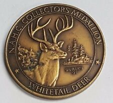 North American Hunting Club Collectors Medallion Series 01 White Tail Deer