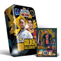 2020/21 Match Attax Mega Tin Golden Goalscorers inc Neymar Gold Limited Edition