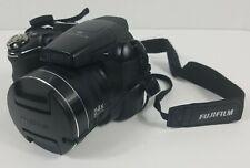 Fujifilm FinePix S Series S4200 14.0MP Digital Camera Black Tested Works Great