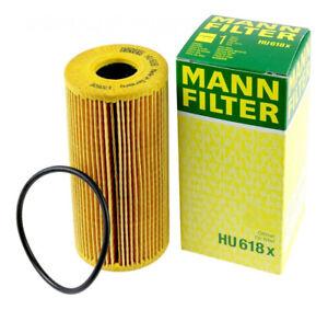 Mann-filter Oil Filter HU618x fits Renault MEGANE II KM0/1_ 2.0 dCi