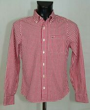 MENS HOLLISTER SHIRT LONG SLEEVE COTTON SIZE S EXCL
