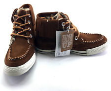 Converse Shoes Chuck Taylor Moc Mid Monk's Robe Brown Sneakers Womens 6