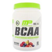 MusclePharm, BCAA Essentials Amino Acids, Fruit Punch, 1.14 lbs (516 g)
