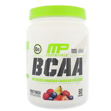 MusclePharm, BCAA Essentials Amino Acids, Fruit Punch, 1.14 lbs (516 g)