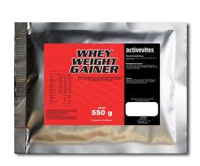 5,44€/kg Whey Weight GAINER 550g Eiweiß Protein Muskelaufbau Vanille