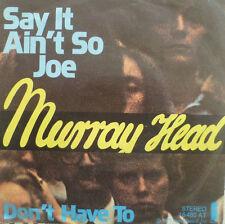 "7"" 1975 RARE ! MURRAY HEAD : Say It Ain´t So Joe /VG+?"