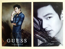 Korean Actor Lee Min Ho Minho Jean Brand Guess Postcard Post Photo Card - Type A