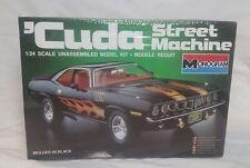71 Hemi Cuda Street Machine Vintage Monogram Sealed!! Barracuda 70 72 USA Made!!