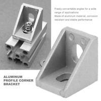 30X L-Form Winkelverbinder 2020 Eckhalterung Winkel Verbinder für Nut Aluprofil