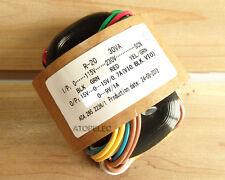 115V/230V 30W r-core transformer pour ampli amplificateur micros dac 15V+15V 9V
