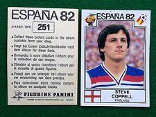 ESPANA 82 1982 n 251 INGHILTERRA COPPELL Figurina Sticker Calciatori Panini NEW