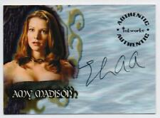 INKWORKS BUFFY THE VAMPIRE SLAYER A31 AMY MADISON LIZ ANNE ALLEN AUTOGRAPH CARD
