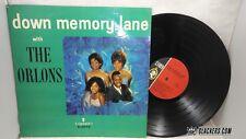 THE ORLONS Down Memory Lane RARE 1963 Cameo LP C-1073 MONO Doo Wop R&B Oldies