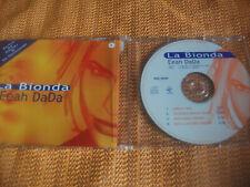 LA BIONDA , EEH DADA, VALE MUSIC CD MAXI RARO