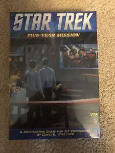 Star Trek Five-Year Mission Game BRAND NEW SEALED