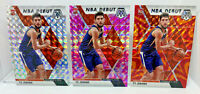 Ty Jerome - 3 Card Lot 2019-20 Mosaic Silver, Pink & Reactive Orange Prizms RC