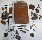 Vtg. 1960s Best of the Johnny West Action Figure Travel Case Cowboy Marx Toys -T