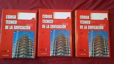 Código Técnico de la Edificación (3 tomos, tapa blanda)